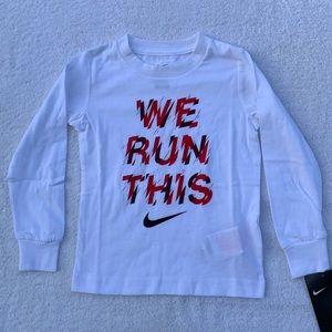 Nike Shirt Size 3T NWT